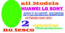 O2 UK UNLOCK CODE NOKIA 8110 3310 DORO 5516 SONY L2 ALCATEL U3 HUAWEI P SMART
