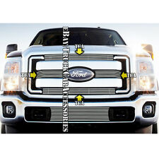 For 2011 2012 2013 2014 2015 FORD F-250 F-350 F-450 Super Duty Billet Grille 4PC