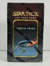 Star Trek The Card Game Factory Sealed Box w/36 Booster Packs 1996 Skybox CCG