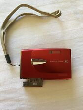 Fujifilm FinePix Z20fd 10MP 3x Optical Zoom Digital Camera Red Battery & Charger