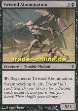 4x Twisted Abomination (distorsionada abominación) Conspiracy Magic
