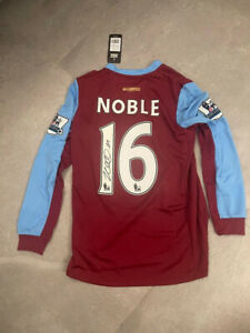 Captain Mark Noble Signed Name And Number West Ham Shirt Bidding From £125