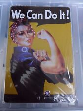 We Can Do It Tin Retro Metal Sign Painted Poster Wall Art Garage Coffee Shop Pub