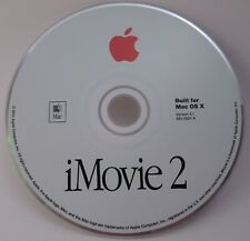 Apple iMovie 2 Built For Mac OS X - Version 2.1 Install CD 691-3021-A  Macintosh