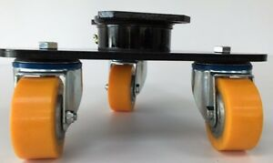 """Scenery Shifters for Theatre Industry, wheels and casters (80MM/3"""")"""