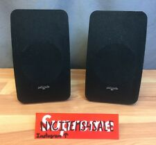 """MINT CONDITION/BARELY USED PAIR OF 6""""x10"""" POLK AUDIO SPEAKERS (M1 Series)"""