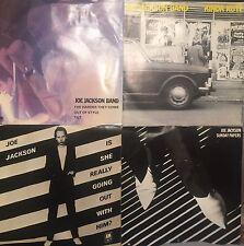 8 Joe Jackson 45rpm Vinyl Records All Picture Sleeves