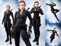 SHF S.H.Figuarts Marvel Avengers Endgame 4 Black Widow Action Figuren 14cm NoBox