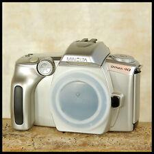 FREE UK POST Nice clean Minolta Dynax 40 35mm Film Camera + Free Battery