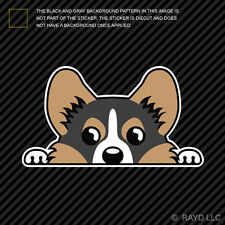 Tricolor Pembroke Welsh Corgi Sticker Die Cut Decal Self Adhesive Vinyl Cardigan