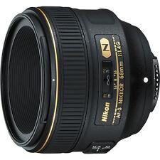 Nikon 58mm f/1.4G AF-S Nikkor FULL FRAME FX Lens NEW +5 YEAR NIKON USA WARRANTY