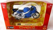 Burago Cycle  Triumph TT 600    in 1:18