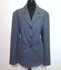 KRIZIA JEANS Giacca Donna Lana Woman Wool Jacket Sz.L - 46