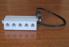 5 fach Verteiler Adapter für Lenz LZ100 LZV100, DIN Buchse / LMAB XPressNet