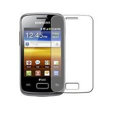 Samsung S6102 Galaxy Y Duos - 1x film de protection semi rigide + chiffon doux