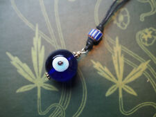 Evil Eye Pendant - Protection from Curses - Pagan, Wicca, Witchcraft, Blue