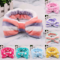 Spa Bath Shower Makeup Wash Face Cosmetic Headband Hair Band Velvet Hairband Nov