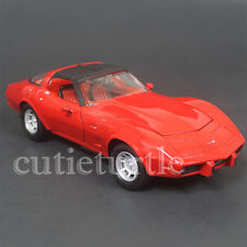 Motormax 1979 Chevy Chevrolet Corvette 1:24 Diecast Car 73244 Red