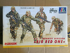 DRAGON ITALERI 1:35 BIG RED ONE KIT DI MONTAGGIO NEW!!