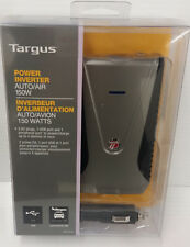 Targus APV12 Auto/Air 150W Power Inverter Slim Line Style AC plugs and USB ports
