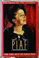 Cassette Edith Piaf Voice of the Sparrow Very Best of TESTED Je Ne Regrette Rien