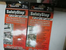 Keeper 4 in x 17.5 in / 10vm. X 44.5 cm Safety Step Skid Resistant Surface