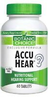 ACCU HEAR NUTRITIONAL HEARING SUPPORT AUDITORY FUNCTIONS SUPPLEMENT 60 TABLETS