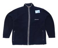 CS Active Mens Size M Fleece Blue Jacket