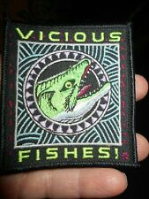 New listing Vicious Fishes piranha fish ray troll Patch