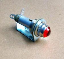 Fender amp light old nice genuine glass RED for original equipment
