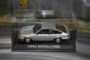 IXO- Opel Monza - Silver - Boxed