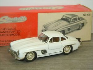 Mercedes 300SL Gullwing - Somerville 105 England 1:43 in Box *46083
