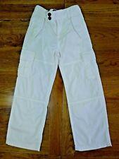 Ralph Lauren white girls trousers size 5 years