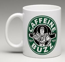 CUSTOM MADE Starbucks Disney Toy Story Buzz Lightyear Coffee Mug Tea Cup