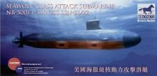 Bronco 1/350 NB5001 USS SSN-21/22 Sea-Wolf Attack Submarine
