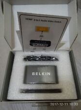 BELKIN Pure AV AV24503 HDMI Interface 2-to-1 Video Switch with Remote 1080p
