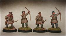Romana tardía Arqueros footsore Miniatures Saga 03lrm108