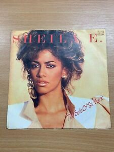 """1984 SHEILA E (PRINCE) """"THE BELLE OF ST MARK / TOO SEXY"""" 7"""" SINGLE 45rpm RECORD"""