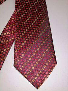 Beautiful Como-in-Seta Made in Italy 100% Silk Tie