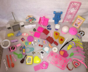 Barbie MISC Accessories Electronics Lamps Kitchen Doll House Odds Ends & Parts
