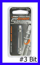 Alden 8403P Grabit Pro # 3 Damaged Bolt & Screw Extractor 1 Piece No. 11-14