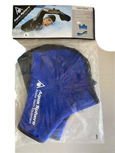 Aqua Sphere Swim Gloves--Size Large