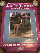 """EMILIO GUERRERO AND CHARRO BAND POSTER 15"""" x 20"""" TEJANO VINTAGE"""