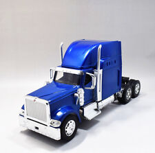 Newray 1:32 International 9900i Diecast Truck Trailer Model New Blue
