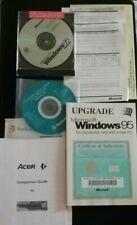 Microsoft Windows Upgrade 95 Disc Genuine OEM Distribution Cd Sealed