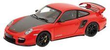 Minichamps 1.18 Scale Porsche 911 GT2 RS / 2011 Red With Black Wheels And Bonnet