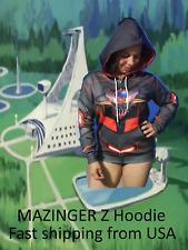 Mazinger Z Hoodie Jacket Tranzor Z Anime Robot Infinity coat