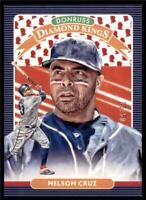 2020 Donruss Diamond Kings Presidential Collection #13 Nelson Cruz /50