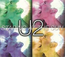 U2 - STARING AT THE SUN 1997 UK GATEFOLD SLEEVE CD SINGLE DIGIPAK ISLAND CID 658