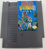 Dragon Warrior II 2 Nintendo Entertainment System NES - Authentic, Clean, Tested